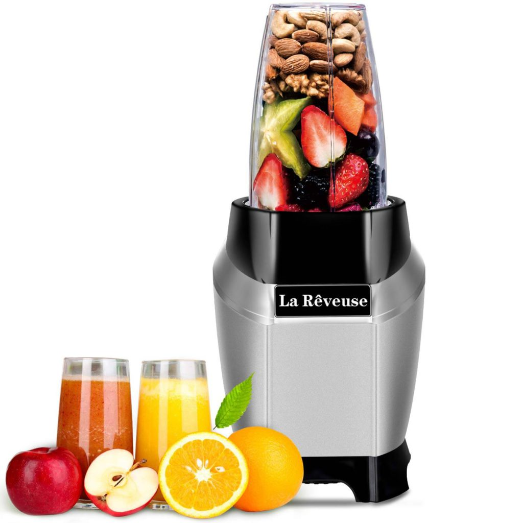 Smoothie and Shakes Personal Blender 600 Watt with 20 oz Tritan BPA-Free Travel Bottle