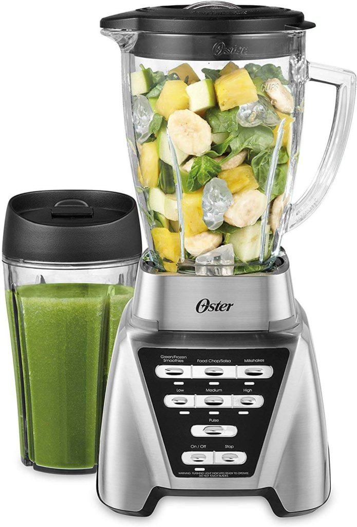 Oster Blender Pro 1200 with Glass Jar 24 Ounce Smoothie Cup