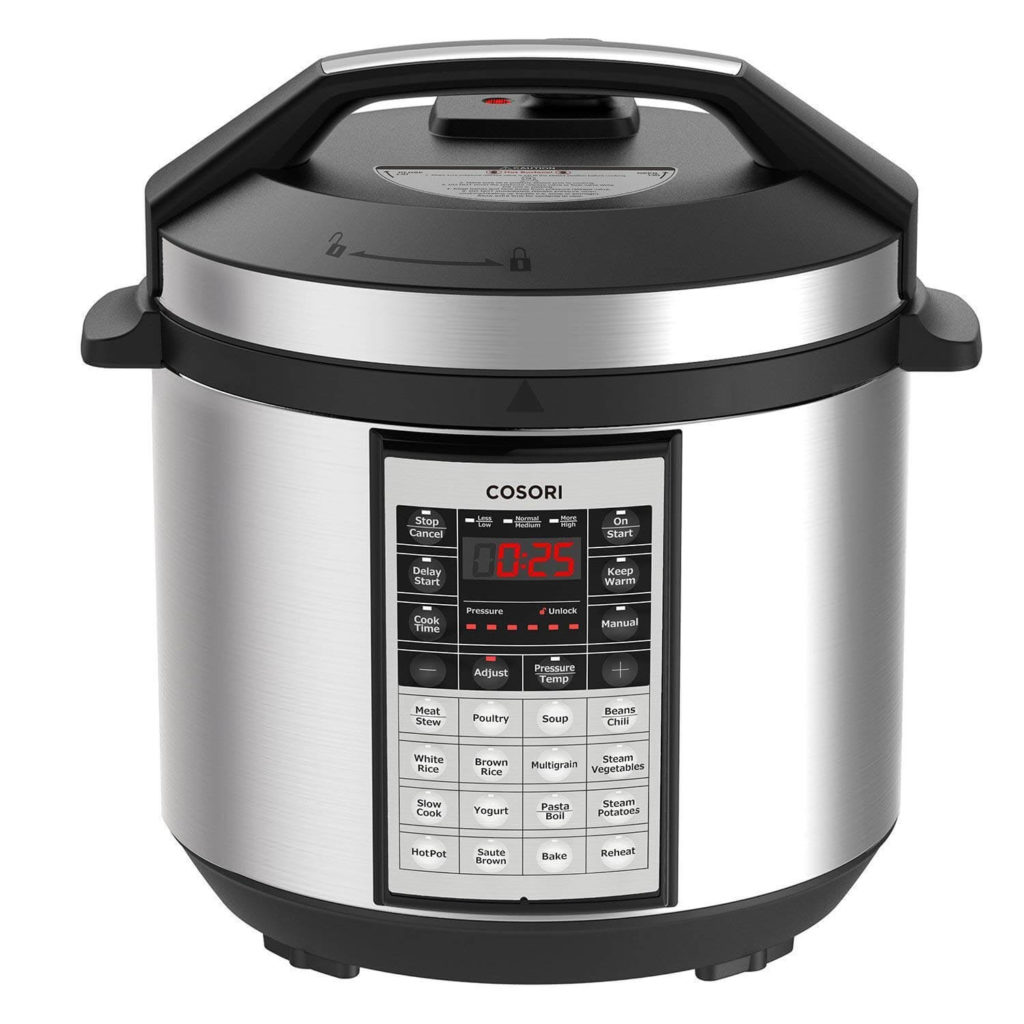 COSORI instant pot Electric Pressure Cooker 6 Qt 8 in 1 Instant Stainless Steel Pot 16 Program Slow Cooker