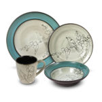 Gourmet Basics Song Bird Dinnerware Set