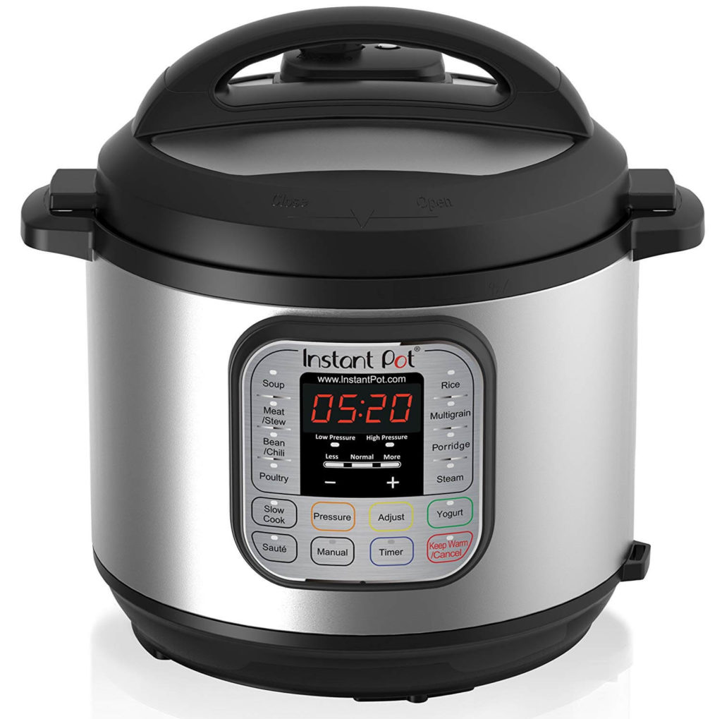 Instant Pot DUO60 6 Qt 7 in 1 Multi-Use Programmable Pressure Cooker
