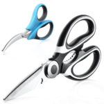 Kitchen Scissors Merisny Multi Function Kitchen Scissors Set Heavy Duty Stainless Steel Poultry Shears and Steel Seafood Scissors