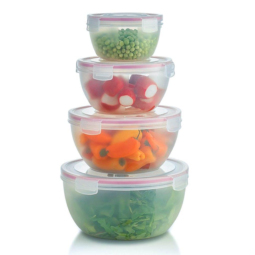 Komax biokips round mixing bowl set