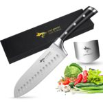 SantSantoku Knife MAD SHARK Pro Kitchen Knives 7 Inch Chefs Knifeoku Knife MAD SHARK Pro Kitchen Knives 7 Inch Chefs Knife