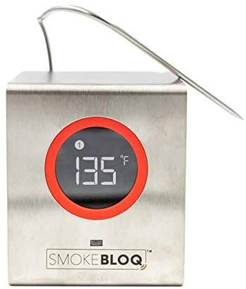 SmokeBloq WiFi Meat Thermometer for iPhone Android