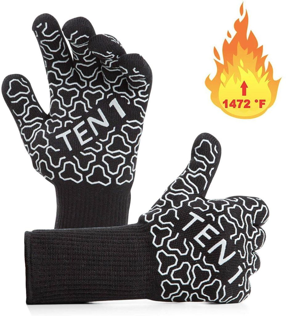 BBQ Gloves Extreme Heat Resistant Grill Gloves
