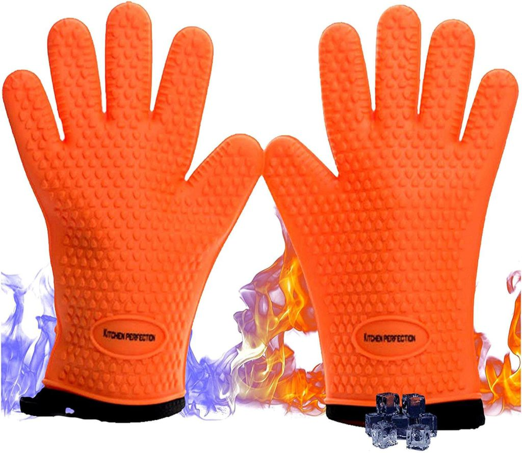 No 1 Set of Silicone Smoker Oven Gloves