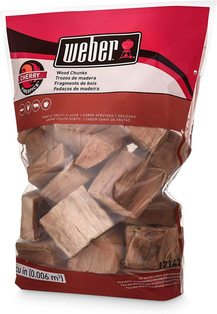 Weber Cherry Wood Chunks