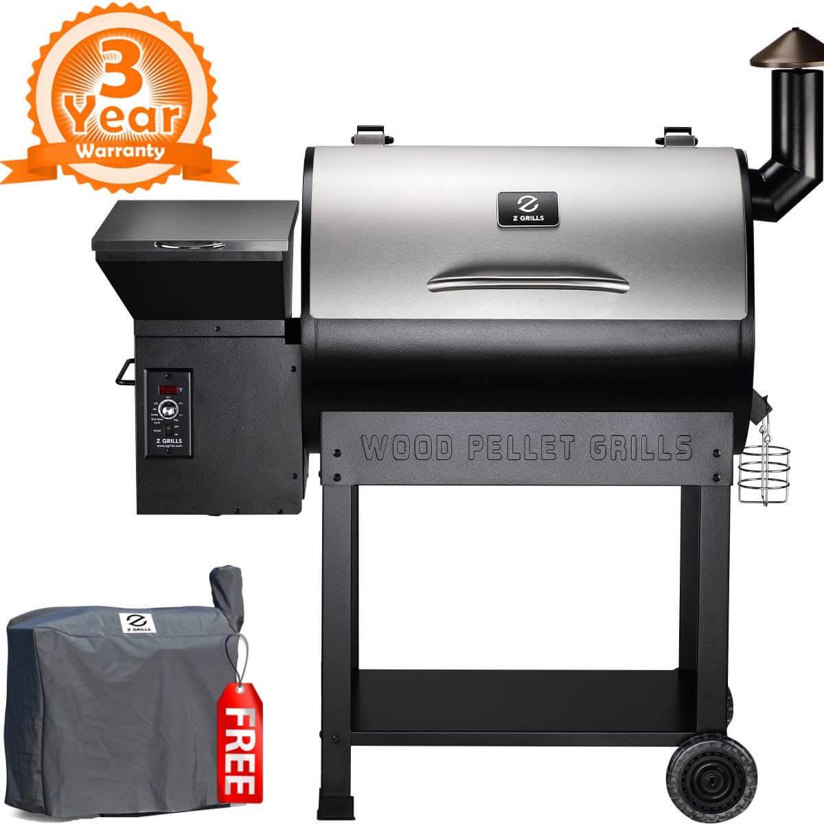 Z GRILLS ZPG-7002E 2019 New Model Wood Pellet Grill