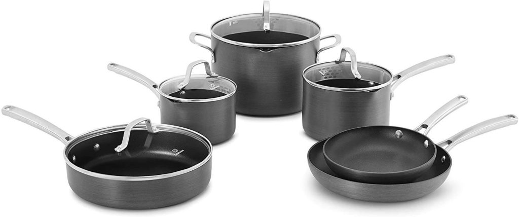 Calphalon Contemporary Nonstick 10 piece Set