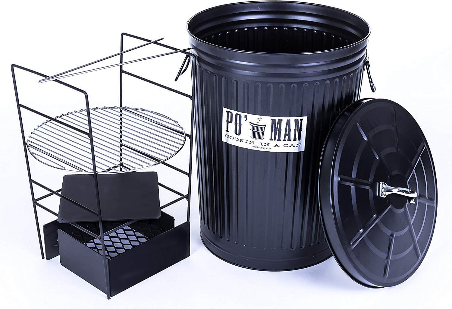 The Original Po Man Charcoal Grill