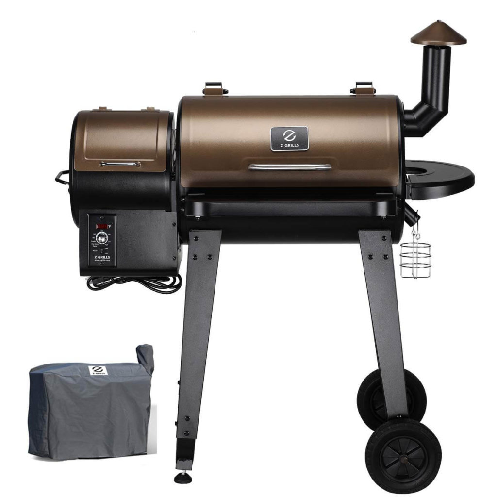 zgrills wood palette smoker