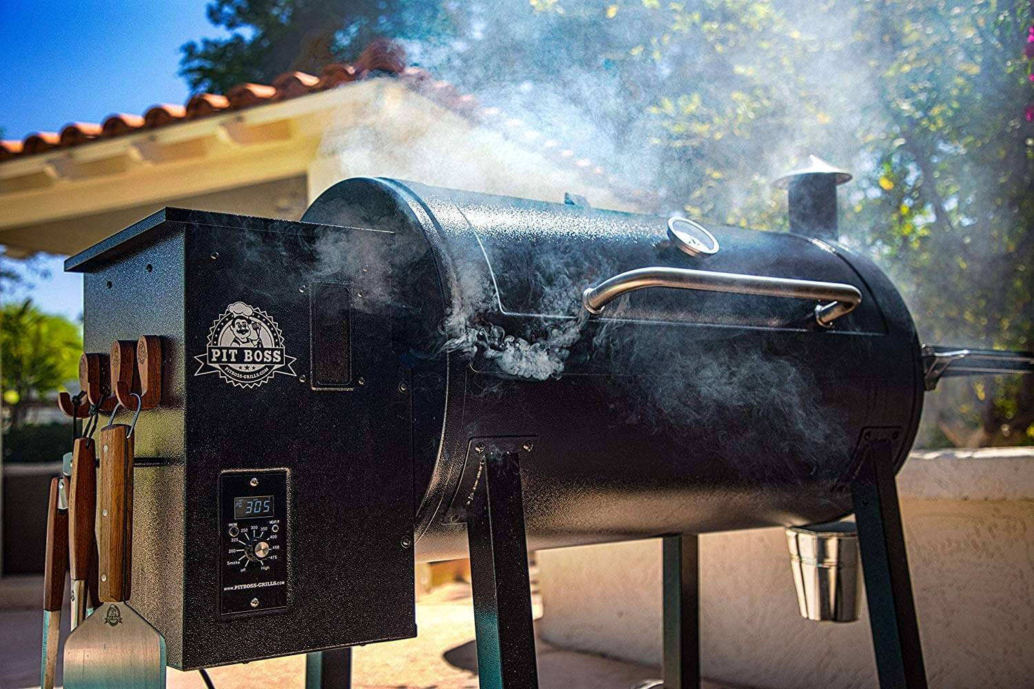 Pit boss grill