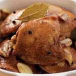 Simple chicken adobo