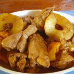 Pinapple chicken adobo