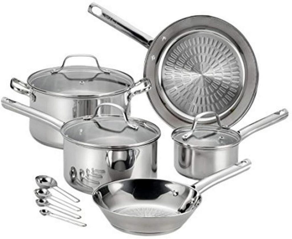 tfal stainless steel cookware