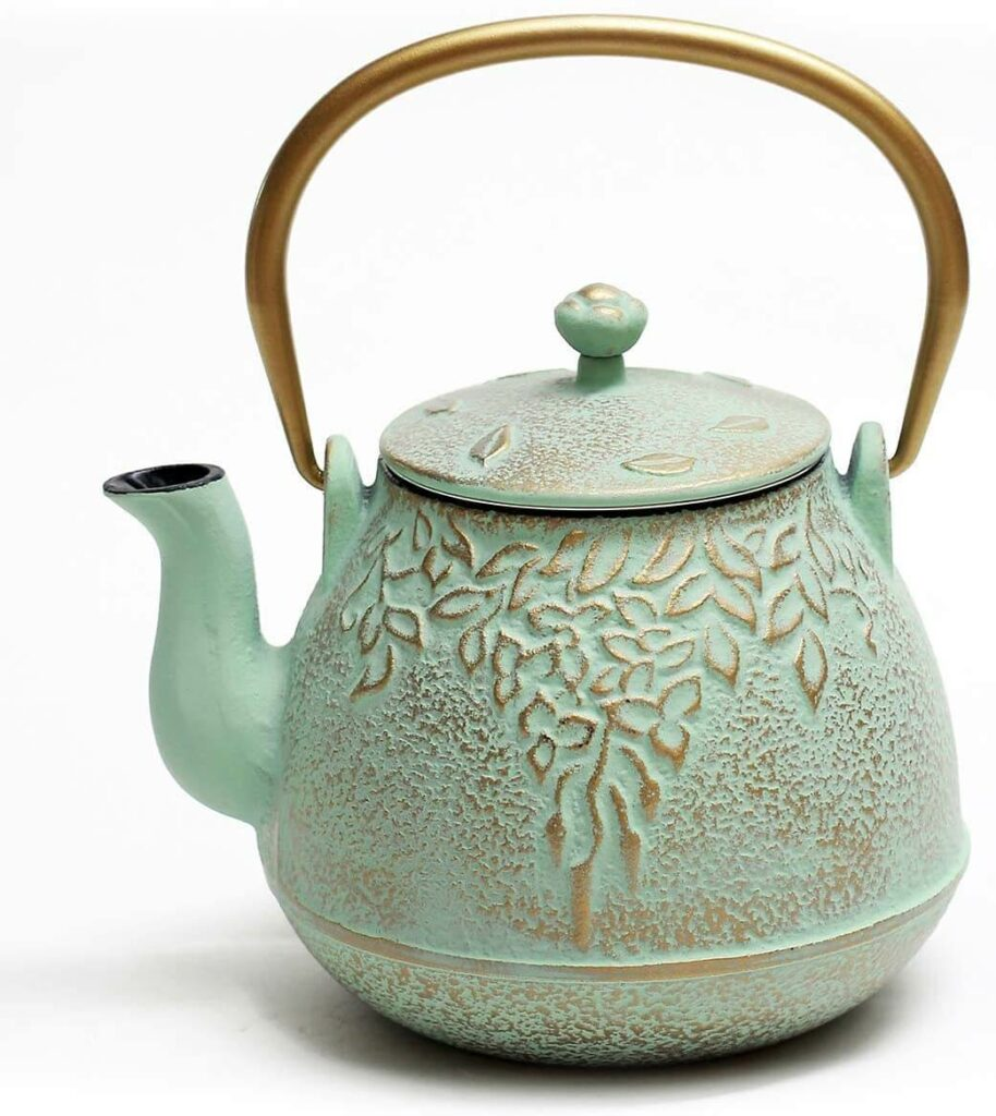 TOPTIER Japanese Cast Iron Teapot